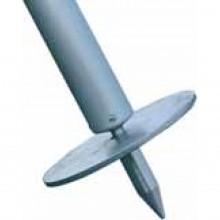 Stützplatte mit Erdspitze Ø 150 mm