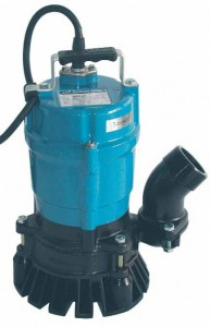 Tsurumi HS2-4S Tragbare Bau-Schmutzwasserpumpe - 12420 l/h