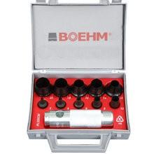 BOEHM JLB219CM Locheisensatz Ø 2-19 mm + JLB-M20 im Kunststoffkoffer