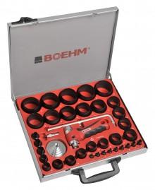 BOEHM JLB260PACC Locheisensatz Ø 2-60 mm + JLB-M53PA + JLB-M60PA + JLB-P42R + TC-420PA + 2xLAM-1 im Metallkoffer