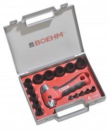 BOEHM JLB330PA Locheisensatz Ø 3-30 mm + JLB-M30PA im Kunststoffkoffer