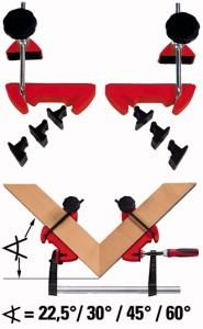 BESSEY MCX Gehrungs-Spannsystem Spannweite 100 mm