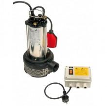 BBC Semisom 130 H M AUT. Schmutzwasserpumpe mit Schwimmschalter und Starter - 6000 l/h - 230 V