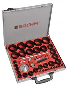BOEHM JLB259PACC Locheisensatz Ø 2-59 mm + JLB-M53PA + JLB-M60PA + JLB-P42R + TC-420PA + 2xLAM-1 im Metallkoffer