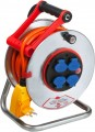 Stahlblech-Kabeltrommeln mit FI & Bretec-System