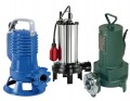 Mit Schneidwerk für stark fäkalienhaltiges Schmutz- und Kanalisationswasser - Festanteile bis Ø 74 mm