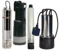 Druckwasser und Tiefbrunnen-Pumpe
