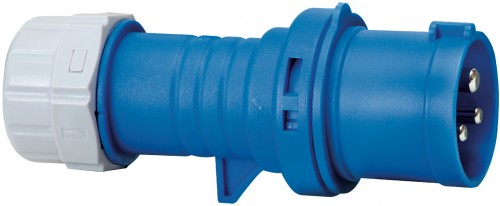 CEE - Stecker IP 44, 3 Pole / 230 V / 16 A - VE= 4 Stück