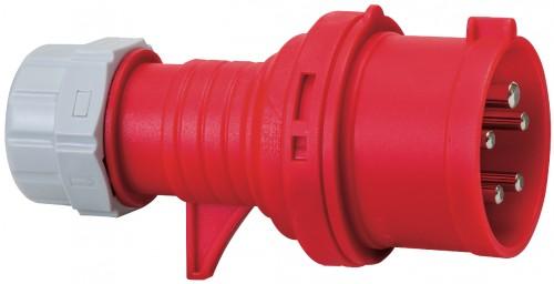 CEE - Stecker IP 44, 5 Pole / 400 V / 16 A - VE= 4 Stück