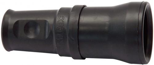 Schutzkontakt-Gummikupplung T 25 IP 44, 5 Pole / 230 / 400 V / 16 A - VE= 2 Stück