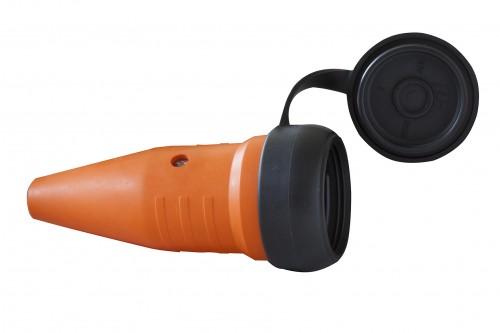 Schutzkontakt-Gummikupplung T 15 IP 44, 5 Pole / 400 V / 10 A - VE= 2 Stück