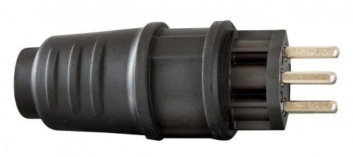 Schutzkontakt-Stecker T 23 IP 54, 3 Pole / 230 V / 16 A - VE= 5 Stück