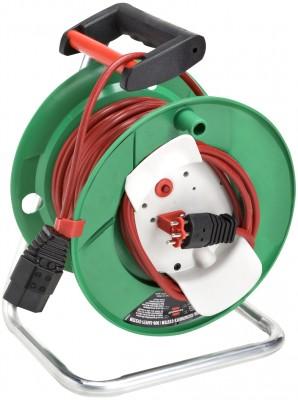 Kabeltrommel Garant G und Bretec 240 - 25 m / 230 V / H05VV-F 3G1.0 - rot