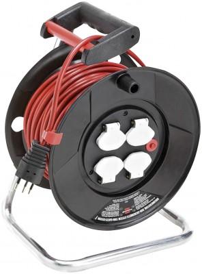 Kunststoff-Kabeltrommel Garant® ST - VV 25 M, 3x1.0mm2 / 230 V
