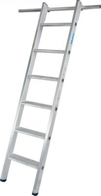 STABILO Stufen-RegalLeiter einhängbar mit 1 Paar Einhängehaken 1x6 Stufen