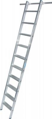 STABILO Stufen-RegalLeiter einhängbar mit 1 Paar Einhängehaken 1x10 Stufen