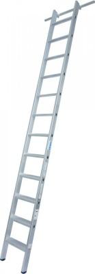 STABILO Stufen-RegalLeiter einhängbar mit 1 Paar Einhängehaken 1x12 Stufen