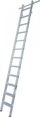 STABILO Stufen-RegalLeiter einhängbar mit 2 Paar Einhängehaken 1x12 Stufen