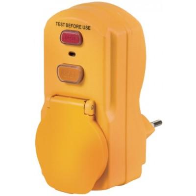Personenschutz FI Adapter IP 54 - 230 V / 10 A