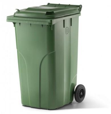 240 Liter Kompostbehälter mit Entlüftungsöffnung - Grün