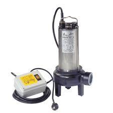 BBC Semisom 290 M + CD Schmutzwasserpumpe ohne Schwimmschalter mit Starterset - 24000 l/h 230 V