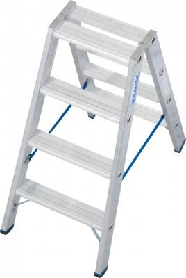 Stabilo® Professional Stufen-Doppelleiter, Aluminium 2 x 4 Stufen