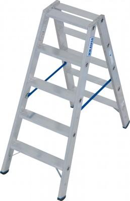 Stabilo® Professional Stufen-Doppelleiter, Aluminium 2 x 5 Stufen