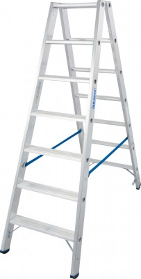 Stabilo® Professional Stufen-Doppelleiter, Aluminium 2 x 7 Stufen