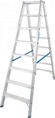 Stabilo® Professional Stufen-Doppelleiter, Aluminium 2 x 8 Stufen