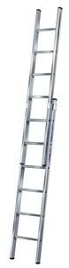 Sprossen-SchiebeLeiter Aluminium - 2-teilig - STABILO® Professional - 2x9 Sprossen