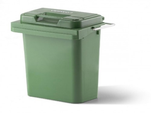 40 Liter Kunststoffbehälter mit Deckel und Tragegriff - Grün