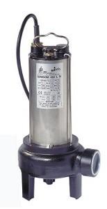 BBC Semisom 290 M Fäkalienpumpe ohne Schwimmschalter - 24000 l/h 230 V