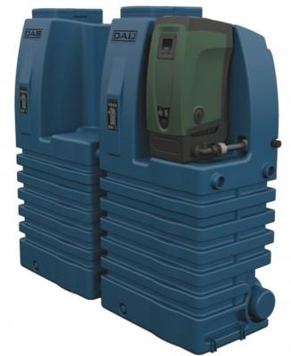 DAB E.sytank Typ AG + E.sybox Hauswasserautomat + E.sytank Zusatzbehälter + E.sytank Anschluss-Set