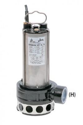 BBC Semisom 635 T für biologische Abwässer ohne Schwimmschalter Ausgang Horizontal - 30000 l/h 400 V