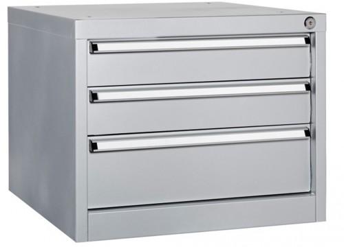 Unterschrank mit 3 Schubladen für Werkbank - 565x580x450 mm