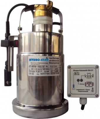 GT-Mini 160/7 E Flachsauger mit elektronischer Niveauregulierung