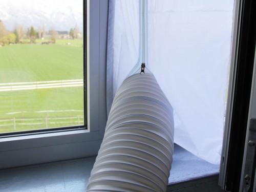Fensterdurchführung bis 4m Fensterumfang für mobile Klimageräte mit Abluftschlauch