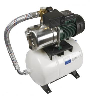 DAB Aquajet-Inox 132 M-G Hauswasserwerk - 4800 l/h - Fh 48.3 m - 4.83 bar - 1.43 kW - 1 x 230 V