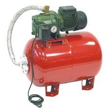 DAB Aquajet RED 102/60 M Hauswasserwerk - 3300 l/h - 5.4 bar - 60 Liter Druckkessel - Trinkwasser-zertifiziert