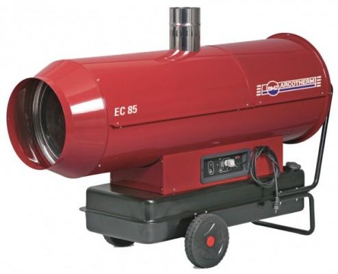 Acrotherm EC 85 Ölheizgerät mit Kamin - 85 kW