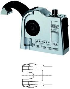 Bessey Matic-Spanner, offene Befestigungsbohrung - BAS-U9-4 - 90x47 mm