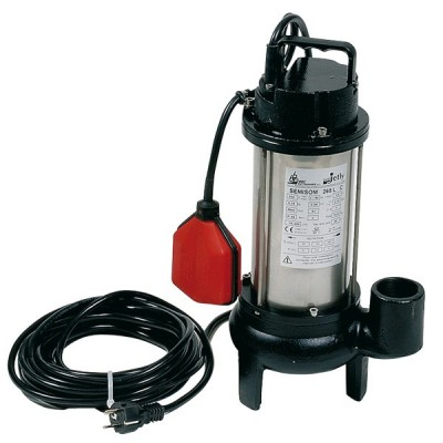 BBC Semisom 265 AUT. Schmutzwasserpumpe mit Schwimmschalter - 18000 l/h 230 V