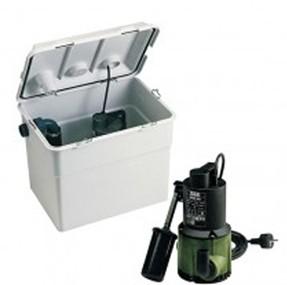 DAB Novabox 30/300.1 Abwasser-Hebeanlage plus Tauchpumpe Nova 300 MA - 7200 l/h - Fh 6.9 m - 0.7 bar - 0.29 kW - 230 V