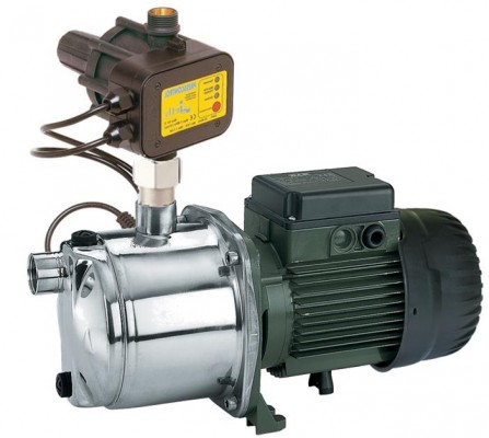 DAB Euroinox 50/50 M Mehrstufige Kreiselpumpen mit Presscontrol - 4800 l/h - Fh 72.0 m - 7.2 bar - 1.48 kW - 1 x 230 V