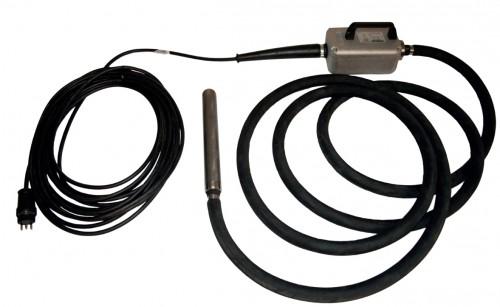 EC060T H120 Viebriernadel elektronisch mit montierter Antriebseinheit - Nadel-Ø 60x410 mm