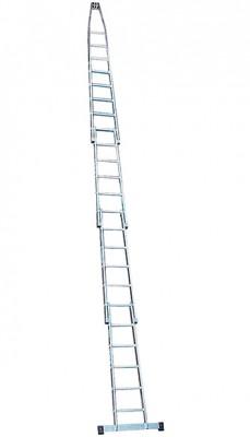 Stabilo® Professional Glasreinigerleiter, vierteilig - Arbeitshöhe 7.40 m - 23 Sprossen