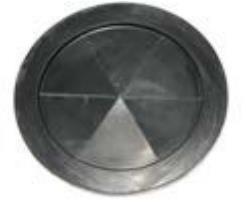 Gummimanschette Ø 180 mm für Stahl-/ Kunststoffcontainer und Kunststoffbehälter - lose geliefert