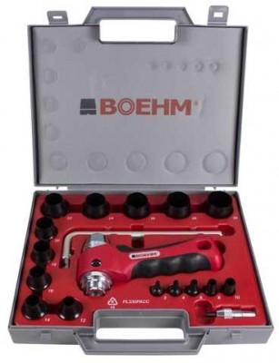 BOEHM JLB330PACC Locheisensatz im Kunststoffkoffer Ø 3-30 mm