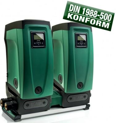 DAB Kit 2 E.sybox + E.sytwin DIN 1988-500 - 12800 l/h - Fh 65.0 m - 6.5 bar - 1.55 kW - 230 V - Trinkwasser geeignet