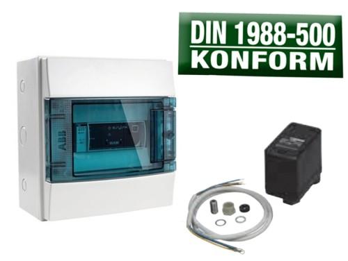 DAB Kit E.sylink + Druckwächter DIN 1988-500 Konform für E.sybox und E.sybox mini³